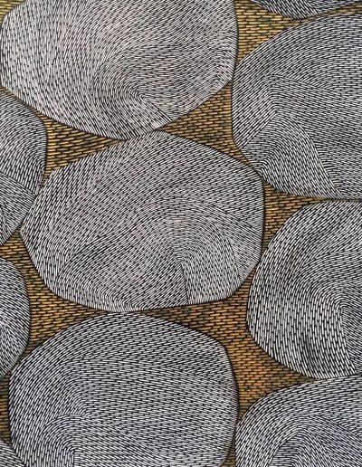 Janine Partington, L50 - Stones - 2019