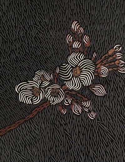 Janine Partington, L70 - Apple Blossom - 2020