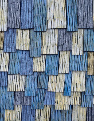 Janine Partington, L83 - Roof Tiles II - 2020